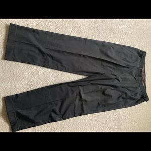 Men's Haggar Dress Pants Black 33x30